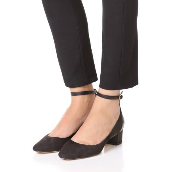 5119107c01ec0 Sam Edelman Lola ankle strap block heel pump. M 5a80a51c8af1c5e077698902